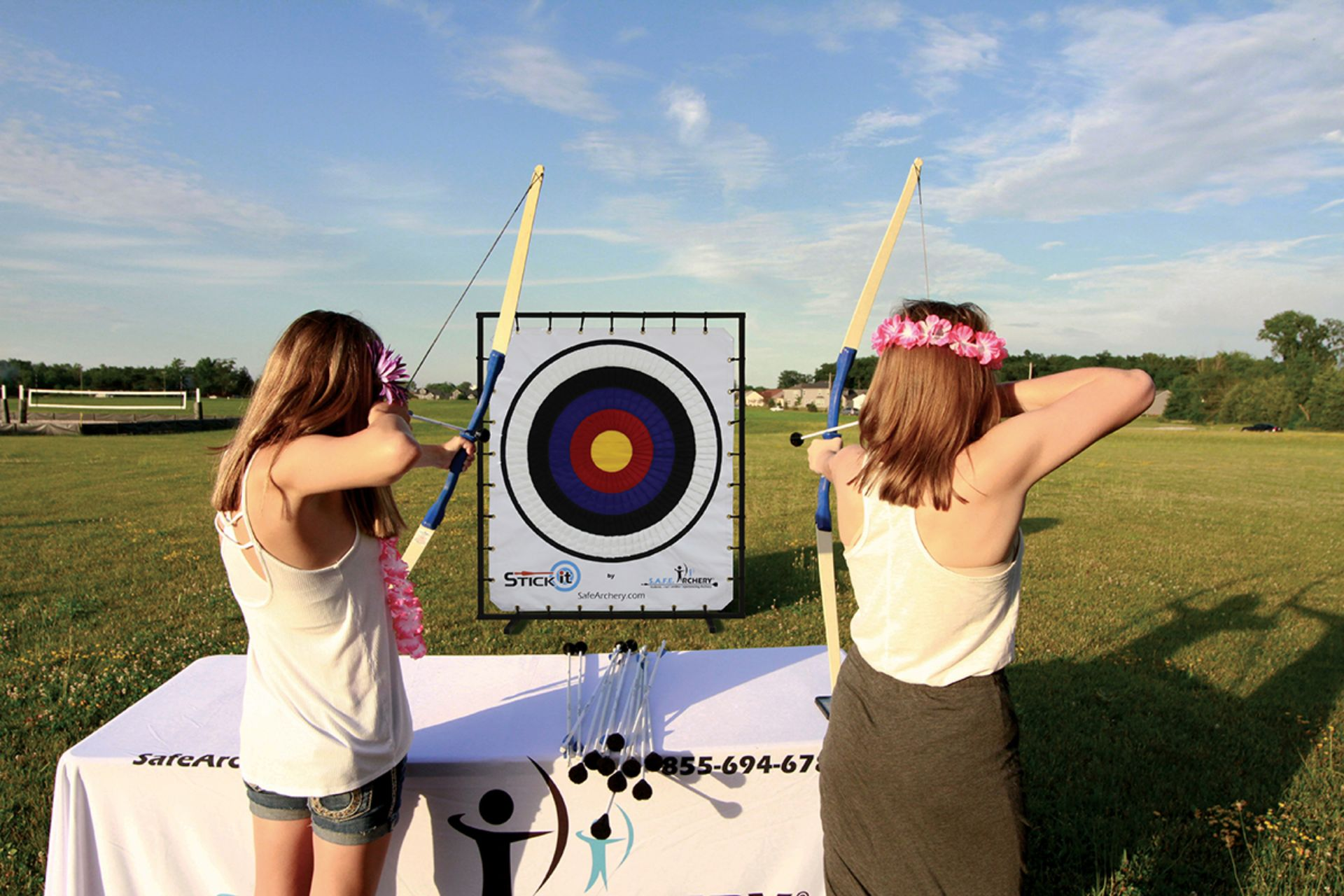 StickIt - Stick It - Xtreme Warrior Tag - Archery - Mobile Game Rentals - Gaming - Alabama (1)